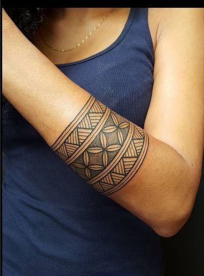 100 Polynesian Tattoo Photos That are Gorgeous
