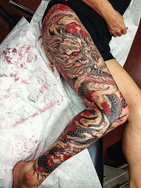 101 Sexiest Thigh Tattoos for Girls