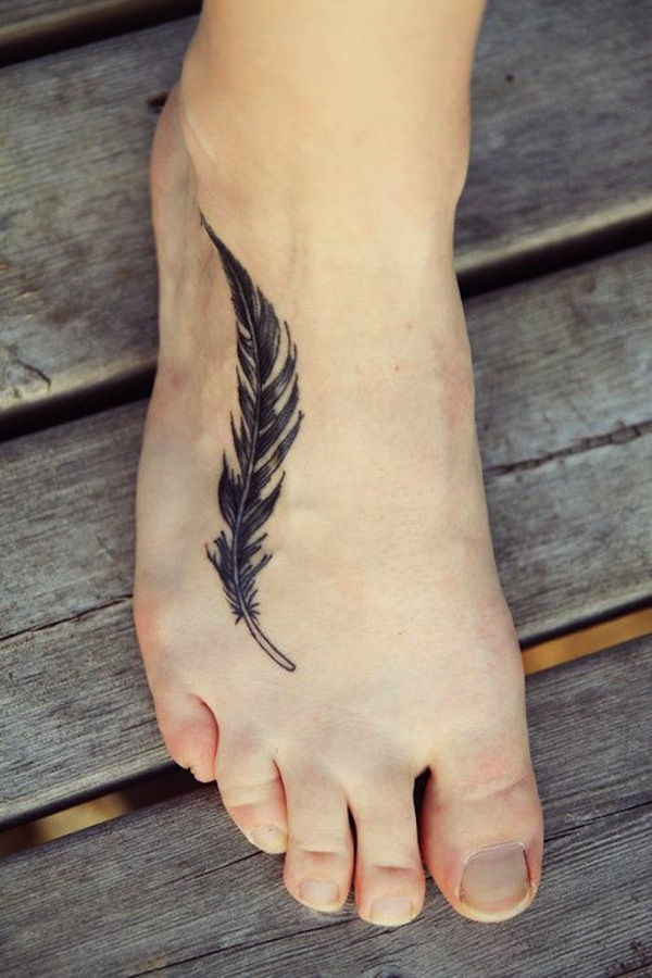 135 Feather Tattoos to Make you Fly