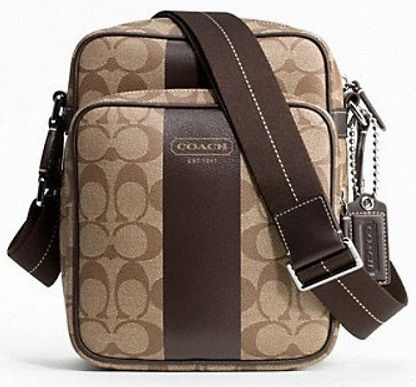3abac0a68ff0 A leather coach bag with amazing prints and a side design is the primary  choice for picnics and regular basis. It is also a type of coach men bags  as also ...