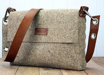 Even men need some relaxation time from their office work for vacations and  their office bags won t work out. This felt side bag ... 8fe3651e33095