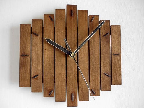 Wooden Watch Craft Idea