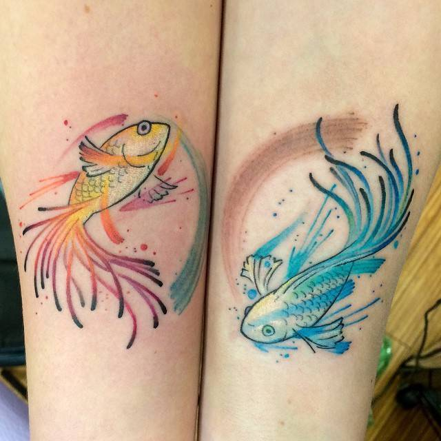 25 Proud Pisces Tattoos