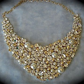 champagne-crystal-pearl-bridal-necklace