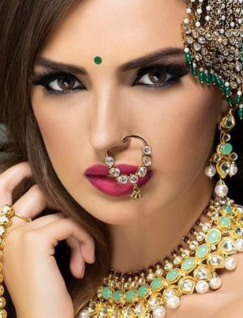 25 Simple And Traditional Nose Rings Indian Jewellery Recruit2network Info