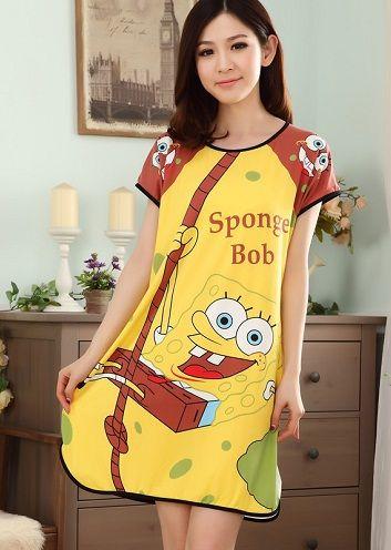 dd5ae9fdb1ab5d Cartoon Character Nightwear for Women  Cartoon character night wear