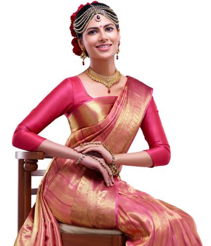 7a016802851e5 30 Elegant Silk Saree Blouse Designs Collection for 2018