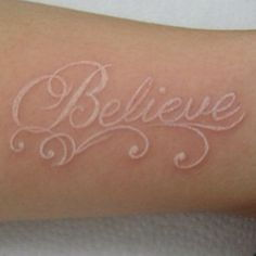 33 White Tattoos For White Ink Lovers