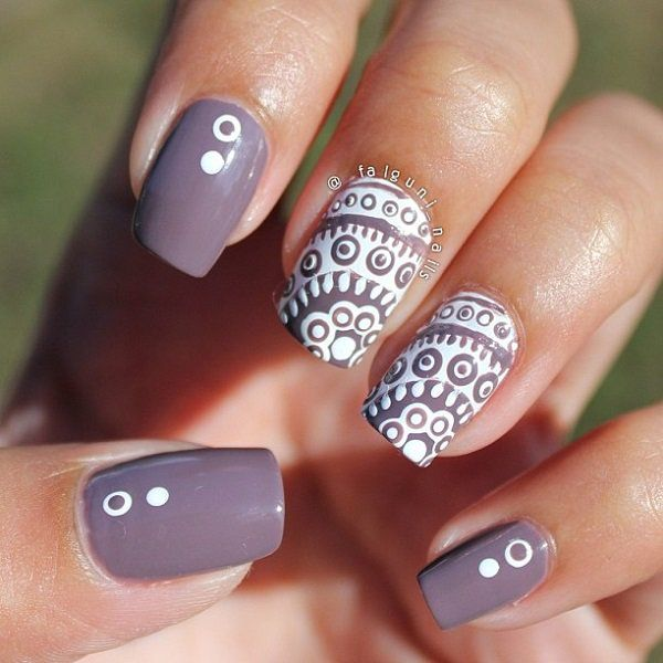 35 Gray Nail Art Designs Recruit2network