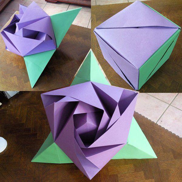40 origami flowers you can do recruit2network origami flower 18 mightylinksfo