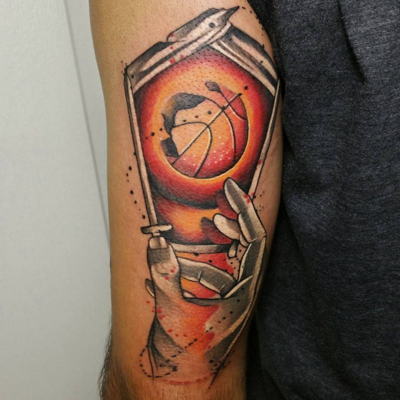 50 Basketball Tattoos That Are Just So Amazing, They're a Slam Dunk