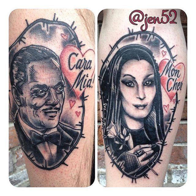 50 Best Couple Tattoos EVER