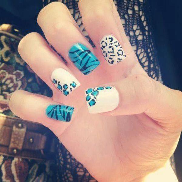 50 Cheetah Nail Designs - 50 Cheetah Nail Designs Recruit2network.com