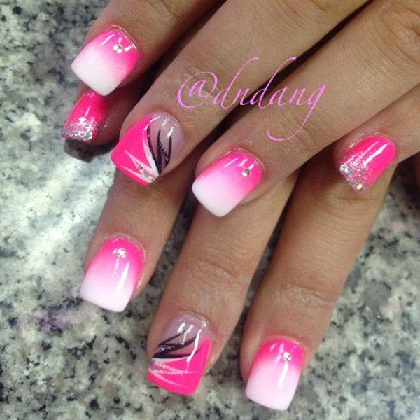 50 Pink Nail Art Designs Recruit2network