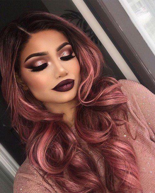 50 Rose Gold Hair Color Ideas Recruit2network Com