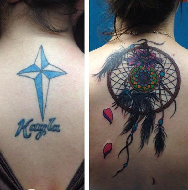 Sanj Catcher Cover Up Tattoo-50