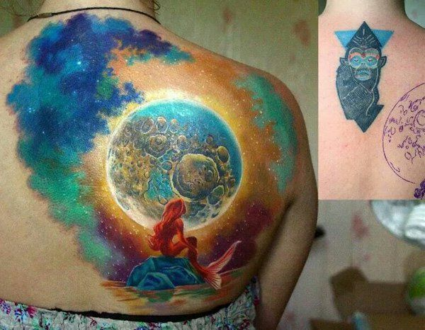 Sirena cover up back tattoo-58