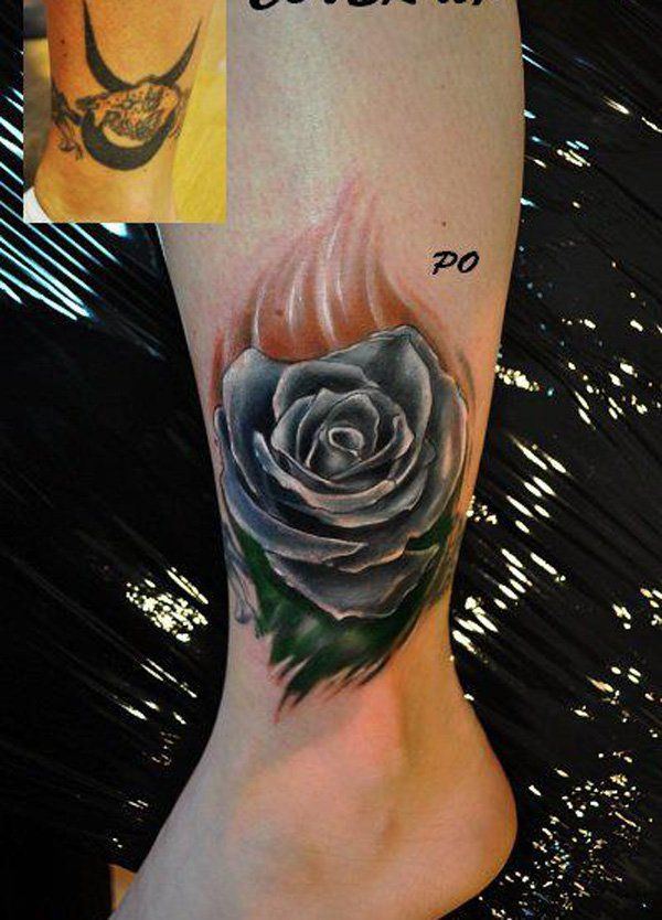 Rose cover up tattoo-9