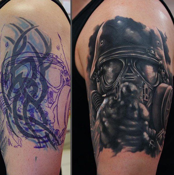 Biokemijski soldier cover up tattoo-12