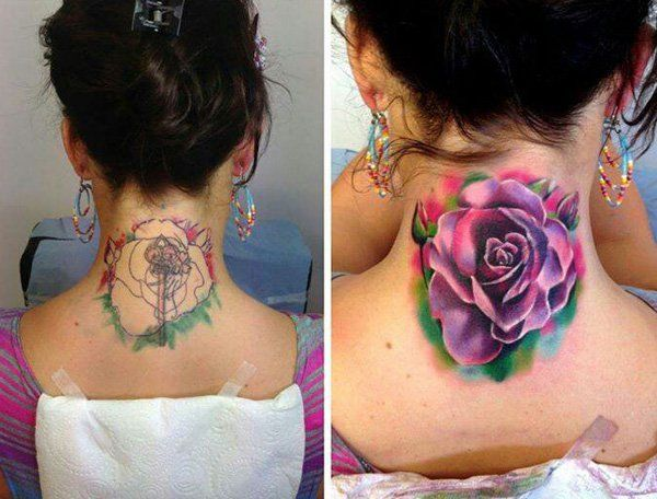Akvarel rose tattoo cover up-56
