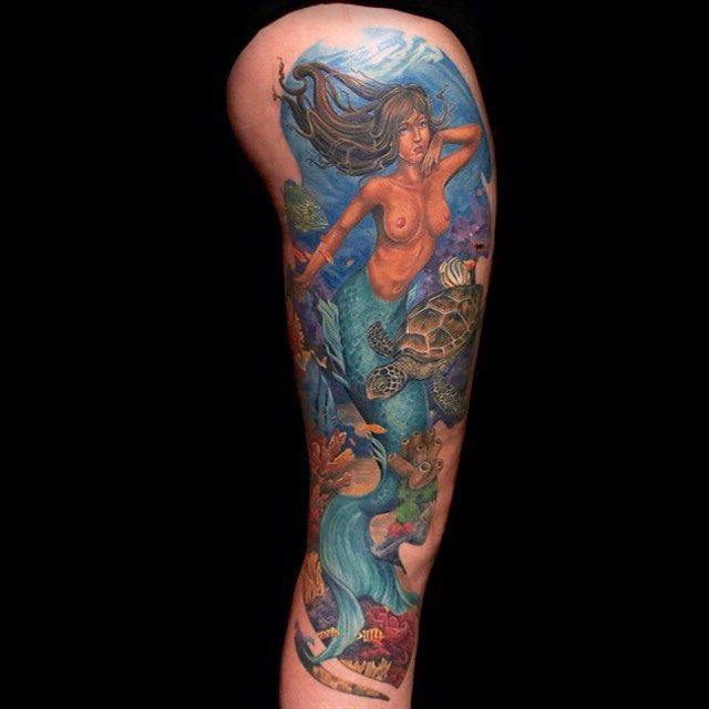 75 Mermaid Tattoos That Are Magical