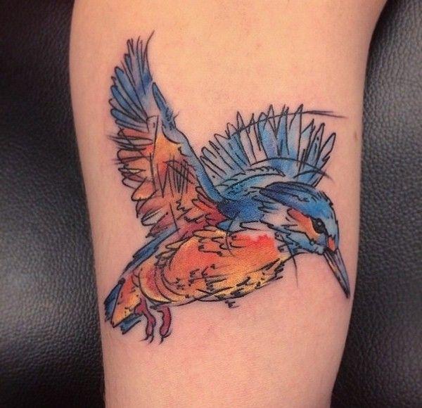 ಒ Tatuaje Pe Braț și Piept: 90 Tatuaje Uimitoare Pentru Pasari