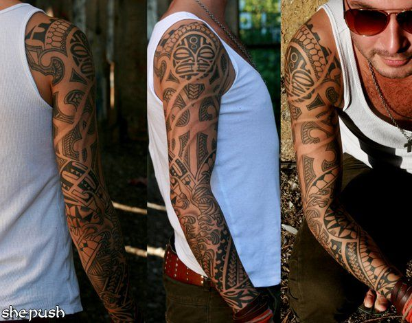95 Awesome Examples of Full Sleeve Tattoo Ideas