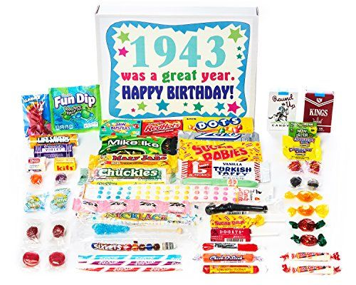 This Assorted Box Of Candies Will Be One The Most Cutest 75th Birthday Gift For Mom Yours Has A Huge Variety Included Up To 40 Different