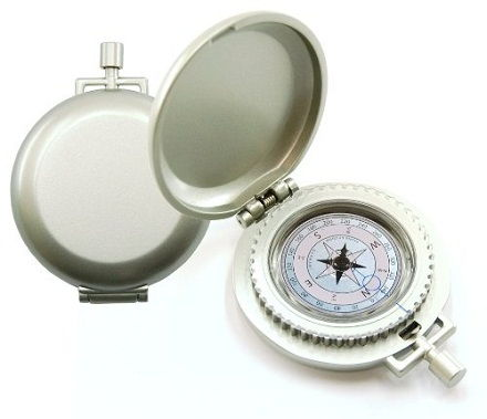 This pocket compass made in steel is an eye catching gift for him. You can get these pocket compasses to be engraved as an 11th anniversary gift for him.