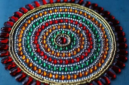 40 Best Kundan Rangoli Designs And Patterns With Images Styles At Classy Decorative Rangoli Designs With Stones And Kundans