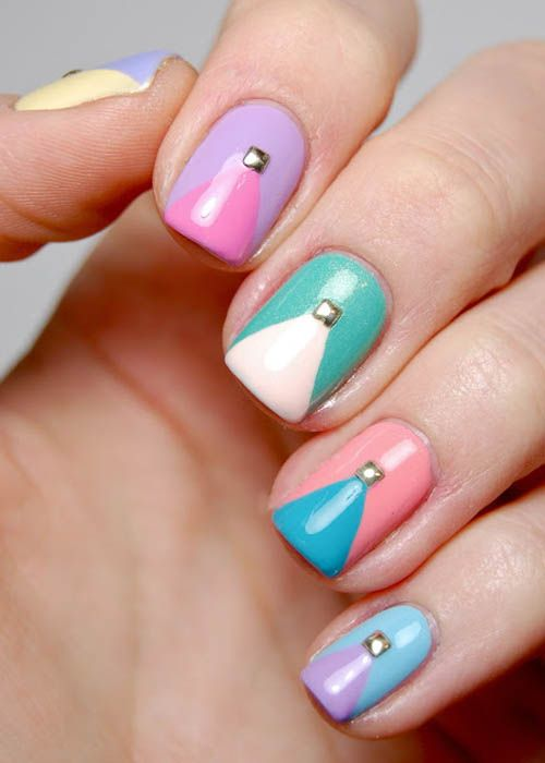 9 Best Studs Nail Art Designs Styles At Life Recruit2network