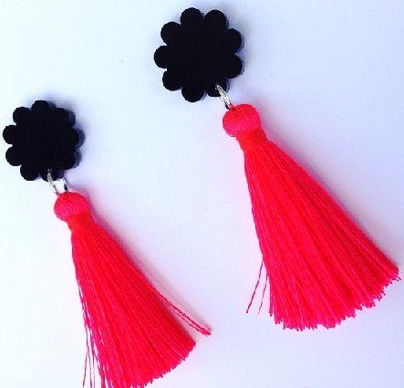 Handmade Tel Earrings1