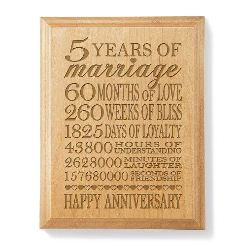 9 Different 5th Wedding Anniversary Gift Ideas   Styles At Life ...