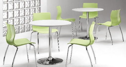 Contemporary Colorful Restaurant Chair