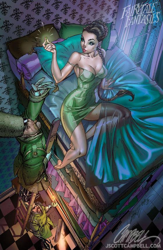 J scott campbell mermaid question sorry