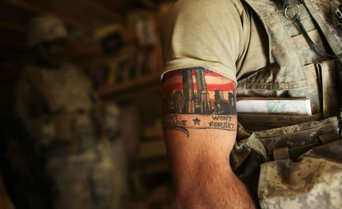 Armată Tattoos - Show your Respect for the Defenders of Freedom