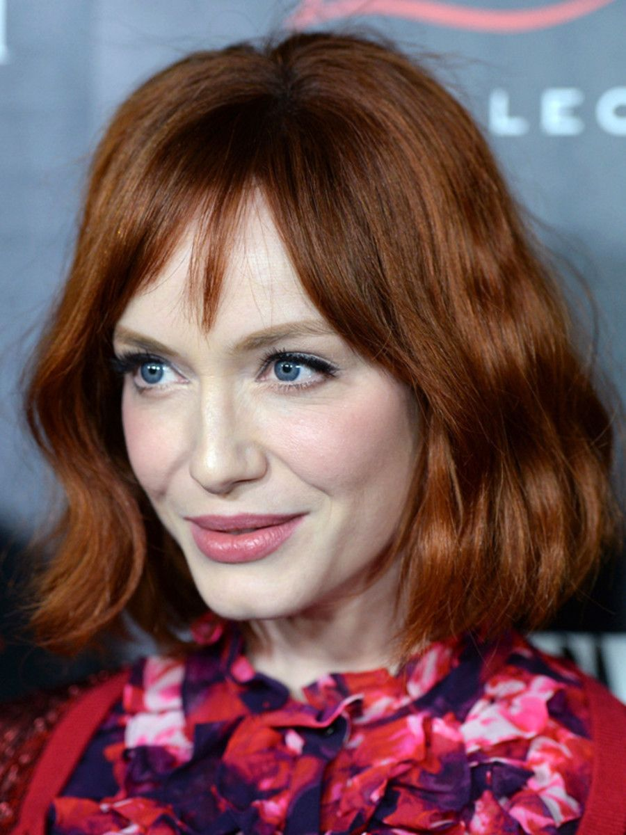 Christina Hendricks Is Wearing The Ultimate Rosy Pink Lipstick