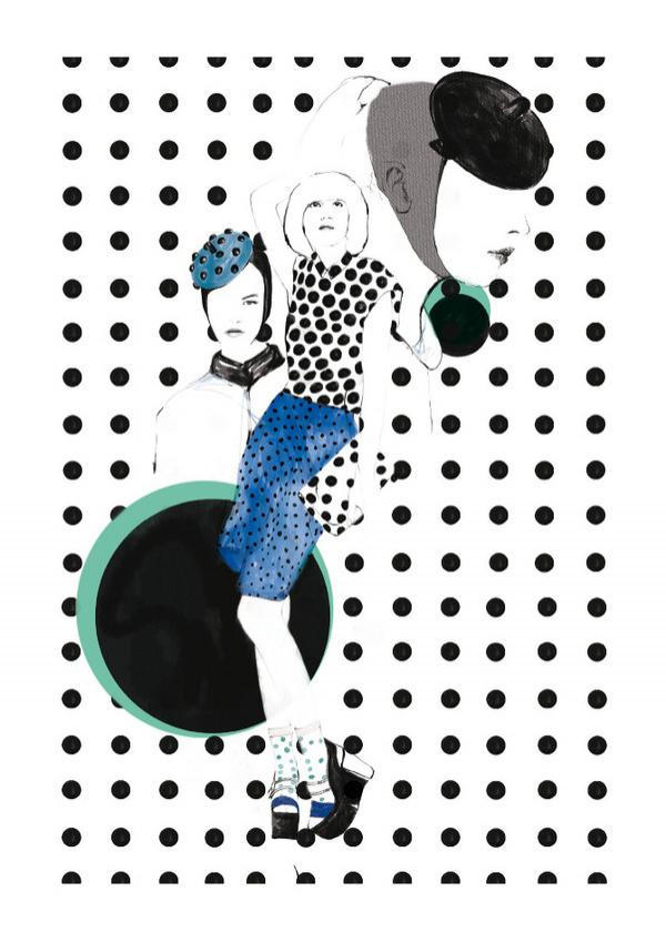 Fashion Illustrations by Spiros Halaris