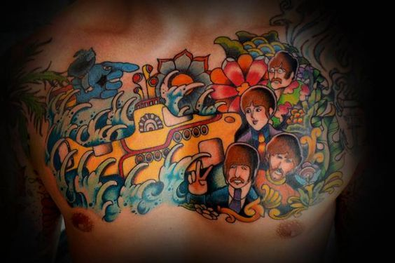 Leisti It Be... The Best Beatles Tattoos This Side of Abbey Road
