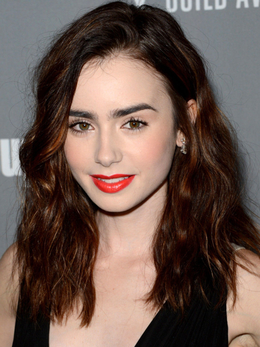 Lily Collins 10 Best Hair And Makeup Looks Recruit2network