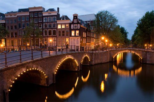 Amsterdam the capital city of Netherlands