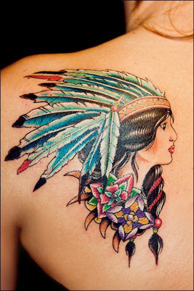 Native American Tattoos - TOP 100 - for the Free Spirited