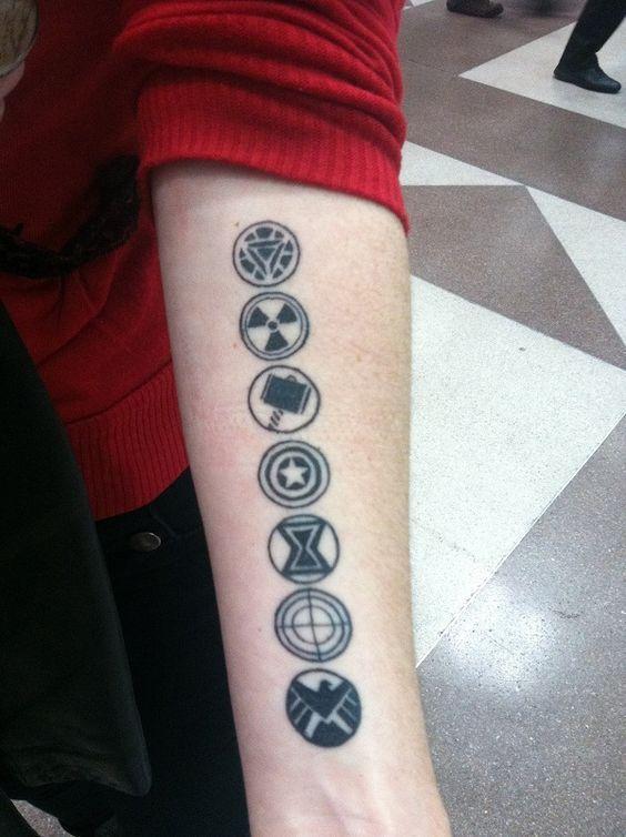 superhero tattoos our favorite superhero tattoos
