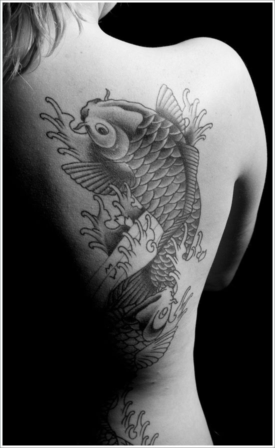 The Coolest Koi Fish Tattoo Designs You Have Seen