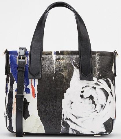 A táskát saffiano bőrből készült anyag és rózsaszín nyomtatás a fekete  szafiano bőrön. Ezt a táskát a Dkny ... 68b2a5c75d